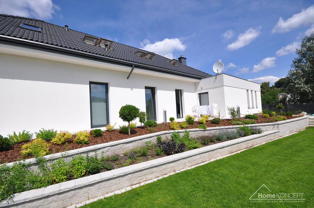 Häuser von HomeKONCEPT | Projekty Domów Nowoczesnych, Modern