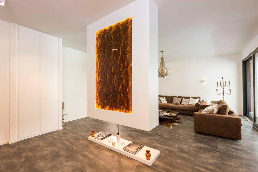 Acrylglas Mit Kupfer Inlay Wohnzimmer Von Helm Design By Helm