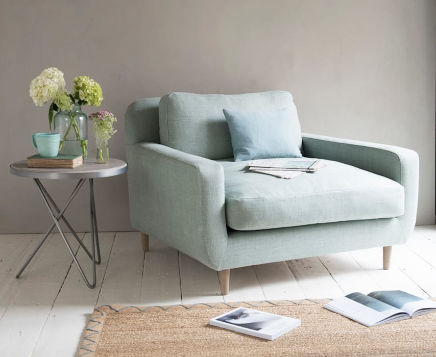 Snuggalump love seat Loaf Living roomSofas & armchairs Textile Green