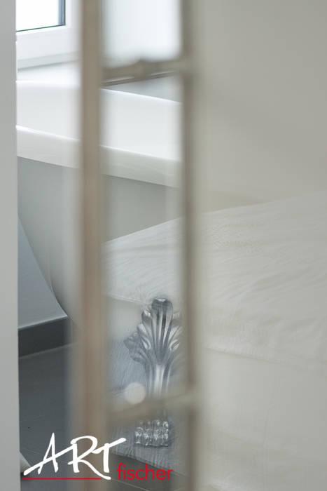 浴室 by ARTfischer Die Möbelmanufaktur., 隨意取材風 玻璃