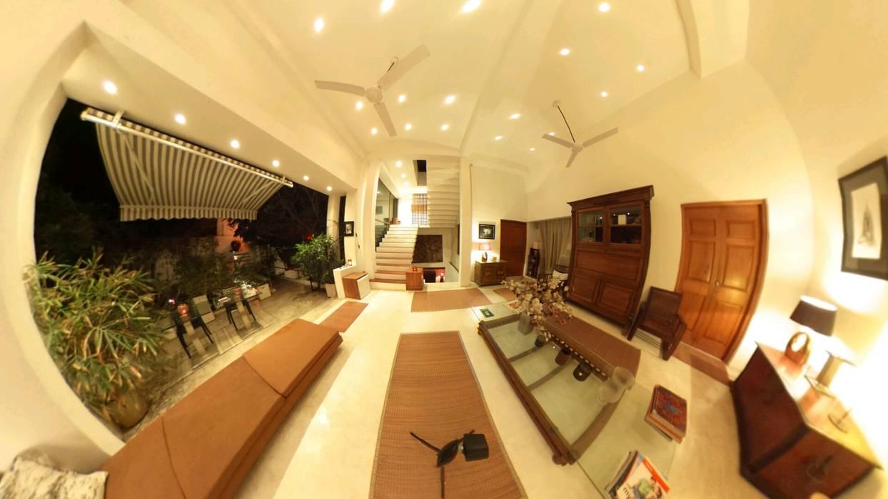 POOL SIDE SEATING:  Pool by Karpita Virtual Reality Studio