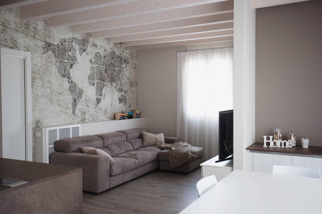 HP Interior srl 客廳沙發與扶手椅
