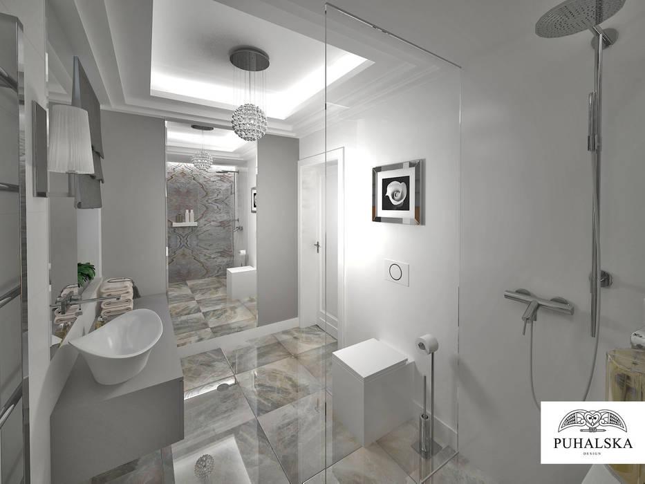 Lazienka W Stylu Modern Classic Styl W Kategorii łazienka