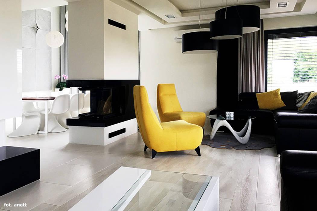 ARCHON+ PROJEKTY DOMÓW Living room