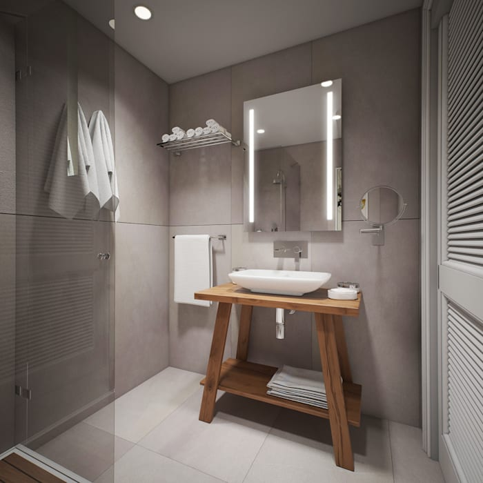 Modern style bathrooms by yücel partners Modern