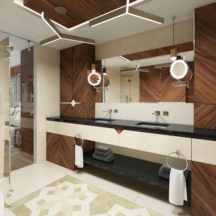 Baños de estilo  por TutajConcept , Moderno