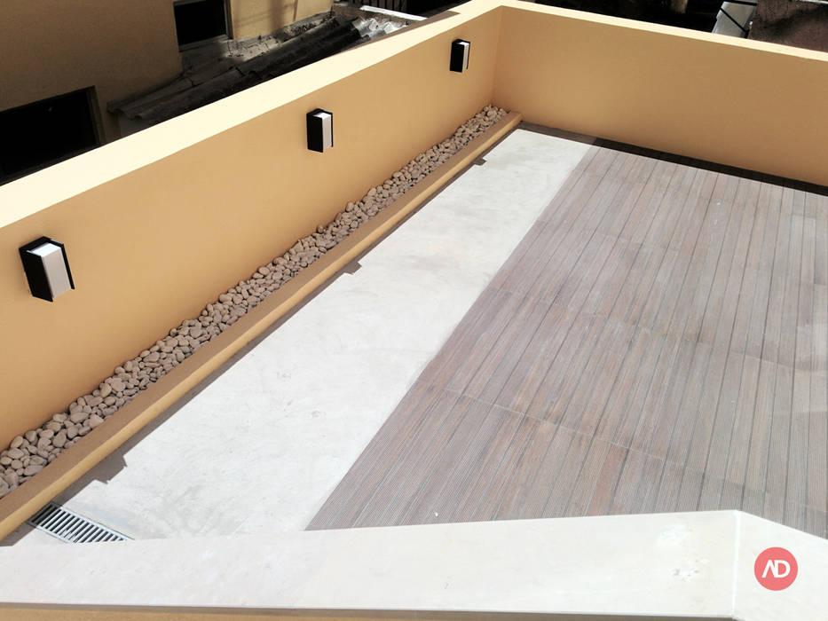Remodelação Prédio Varandas, marquises e terraços modernos por ARCHDESIGN | LX Moderno