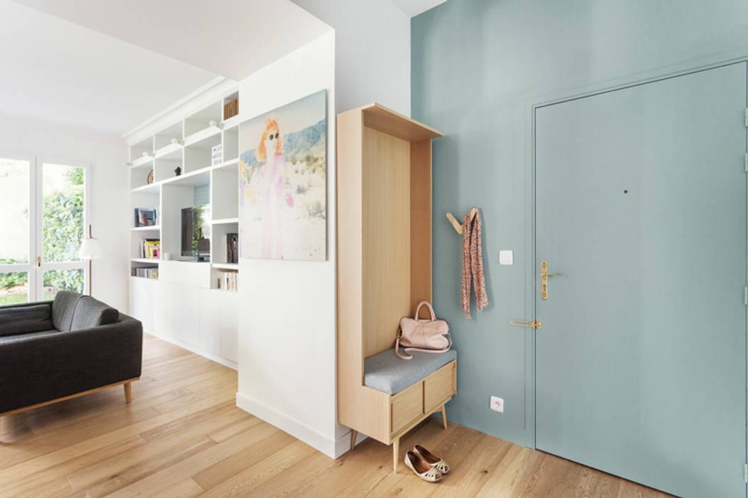 Entrée ouverte : couloir et hall d\'entrée de style par ...