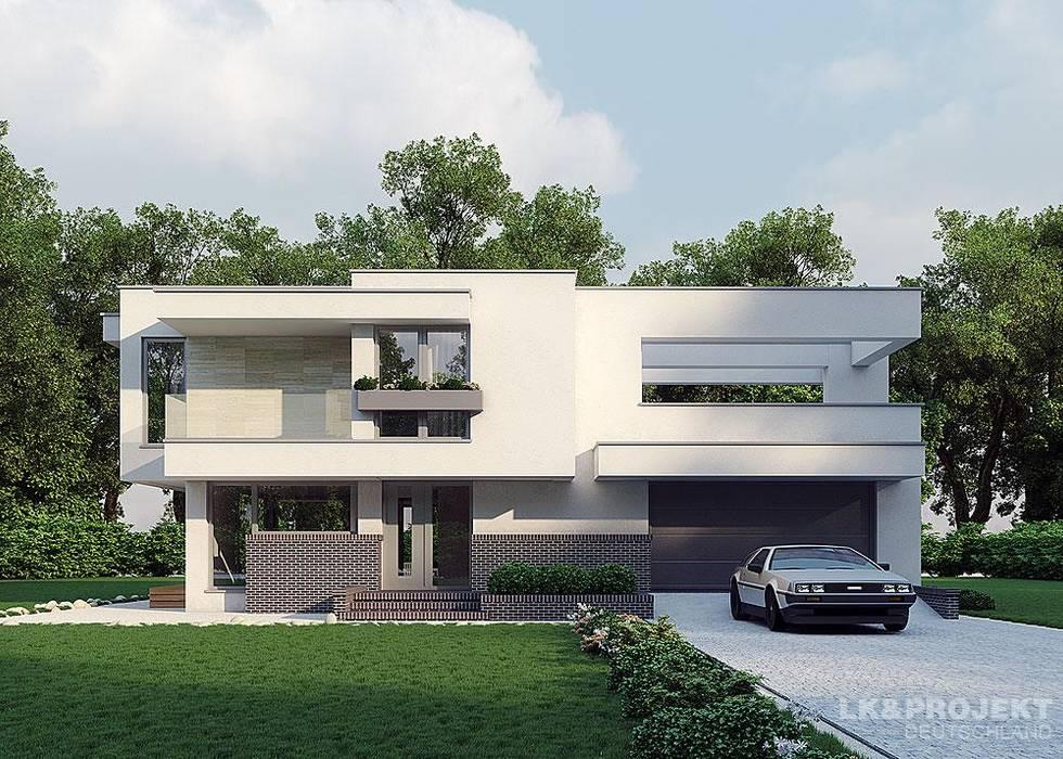 Дома в . Автор – LK&Projekt GmbH, Модерн