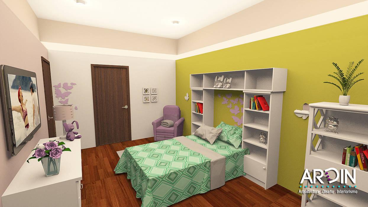 Schlafzimmer von ARDIN INTERIORISMO,