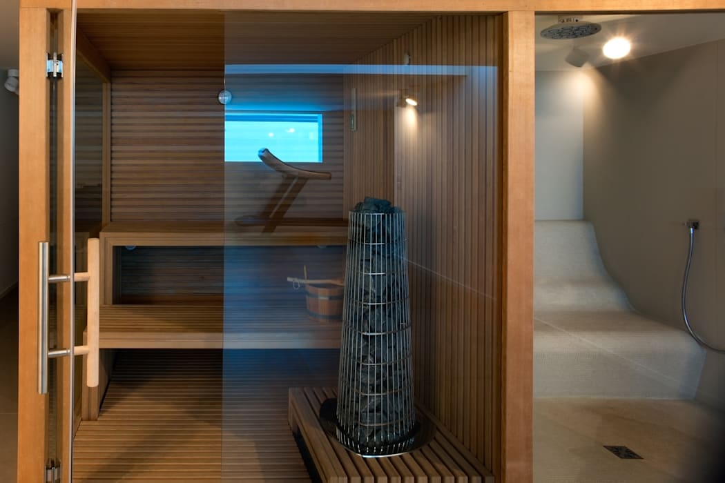 Spa moderne par MIDE architetti Moderne