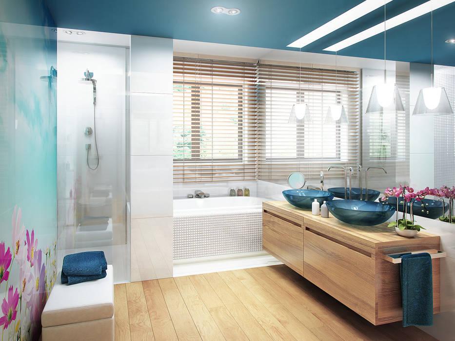 Baños de estilo moderno de TISSU Architecture Moderno