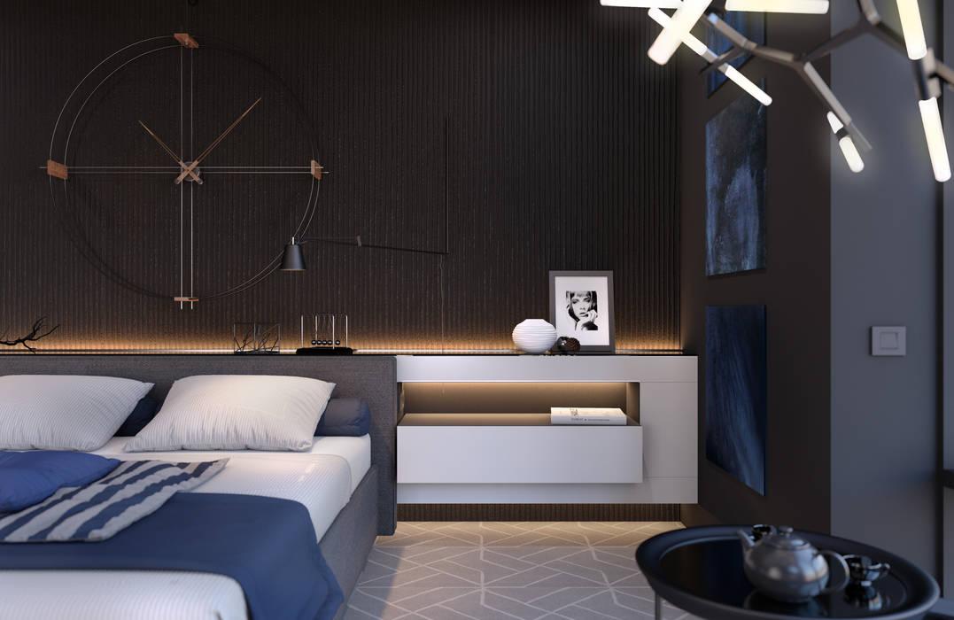 Спальня Спальня в стиле минимализм от Room Краснодар Минимализм
