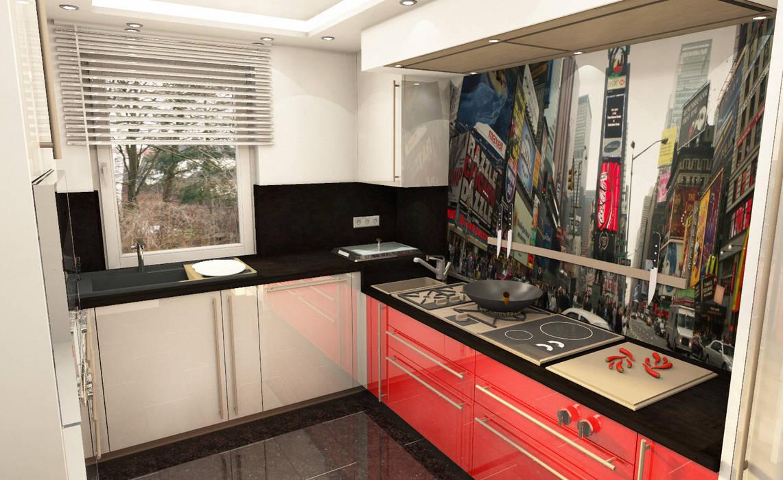 Planungsbilder Moderne Küchen von Design Manufaktur GmbH Modern