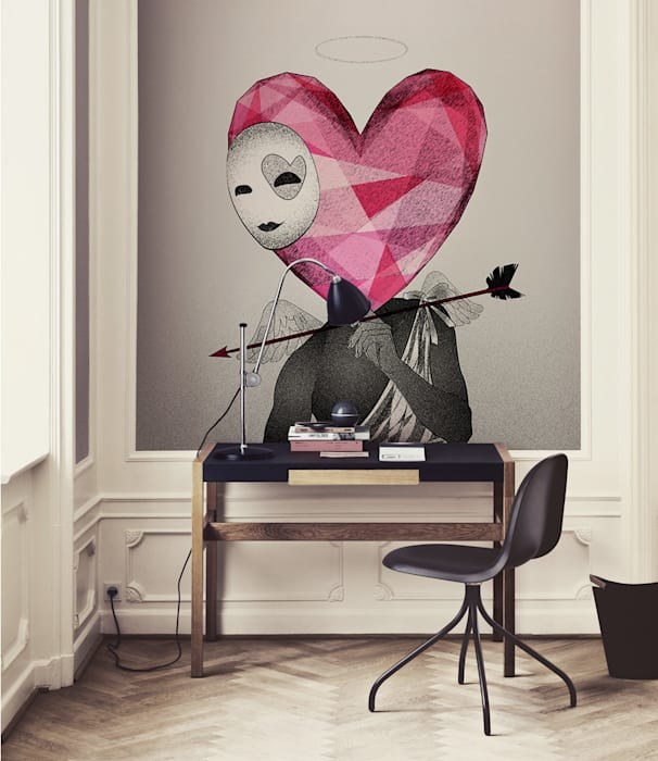 Cupid Pixers Eclectic style study/office