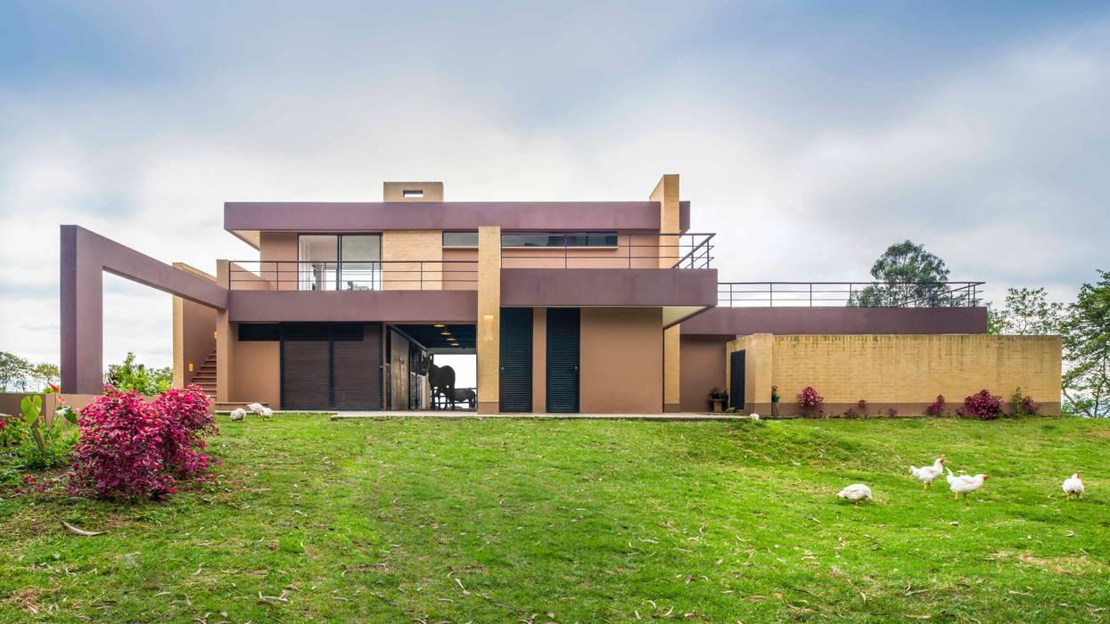 Casas de estilo  por David Macias Arquitectura & Urbanismo, Moderno