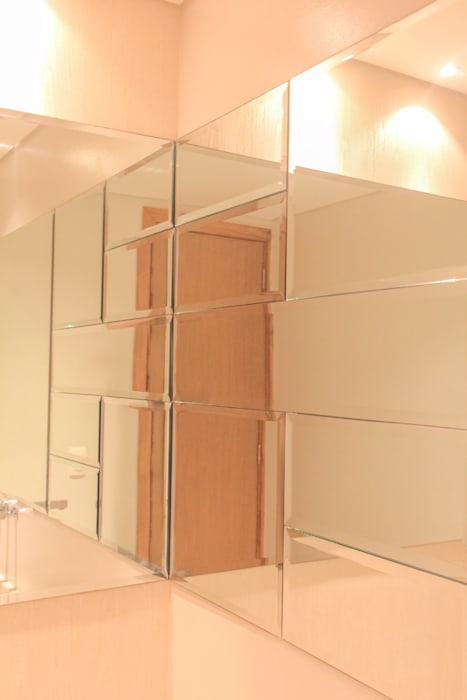 Acento en baño social Monica Saravia Baños de estilo moderno