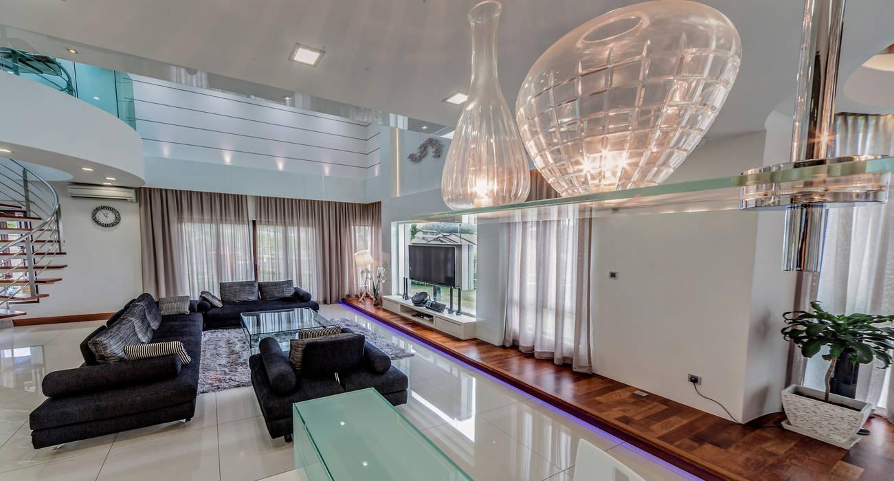 Salas de estilo minimalista de Design Spirits Minimalista