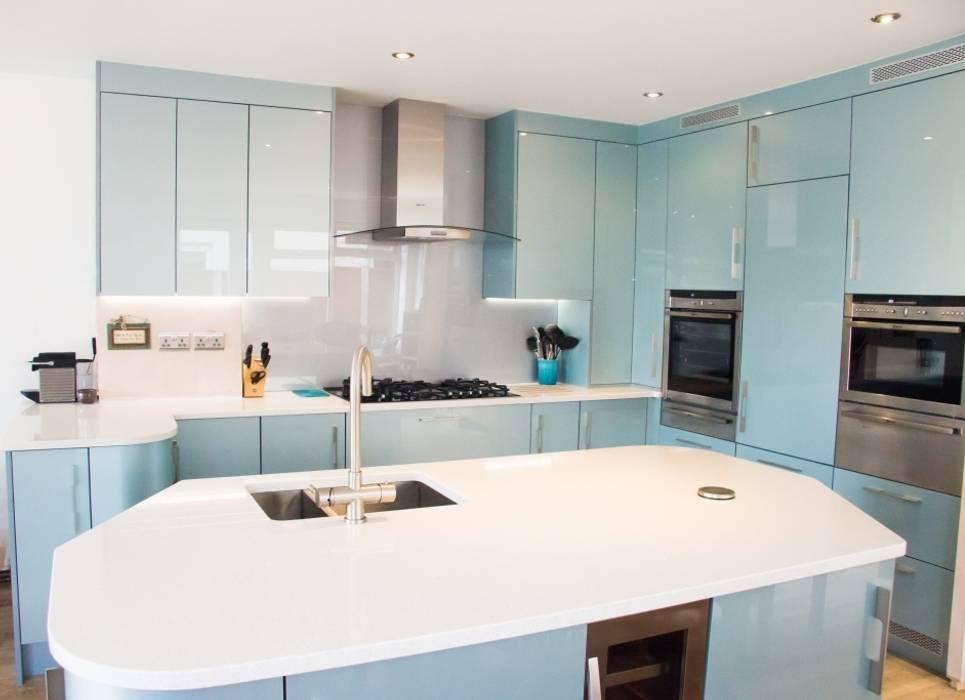 Customer S Kitchen Living Modern kitchen