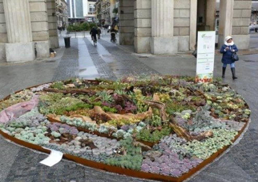 MY PLANT IN THE CITY - Fiere/Eventi: Giardino in stile in stile Moderno di Tessitura Tele Metalliche Rossi