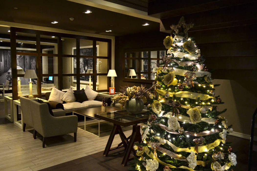 Árbol de Navidad hotel 4 estrellas en las ramblas de Barcelona de Cor d'estel Ecléctico