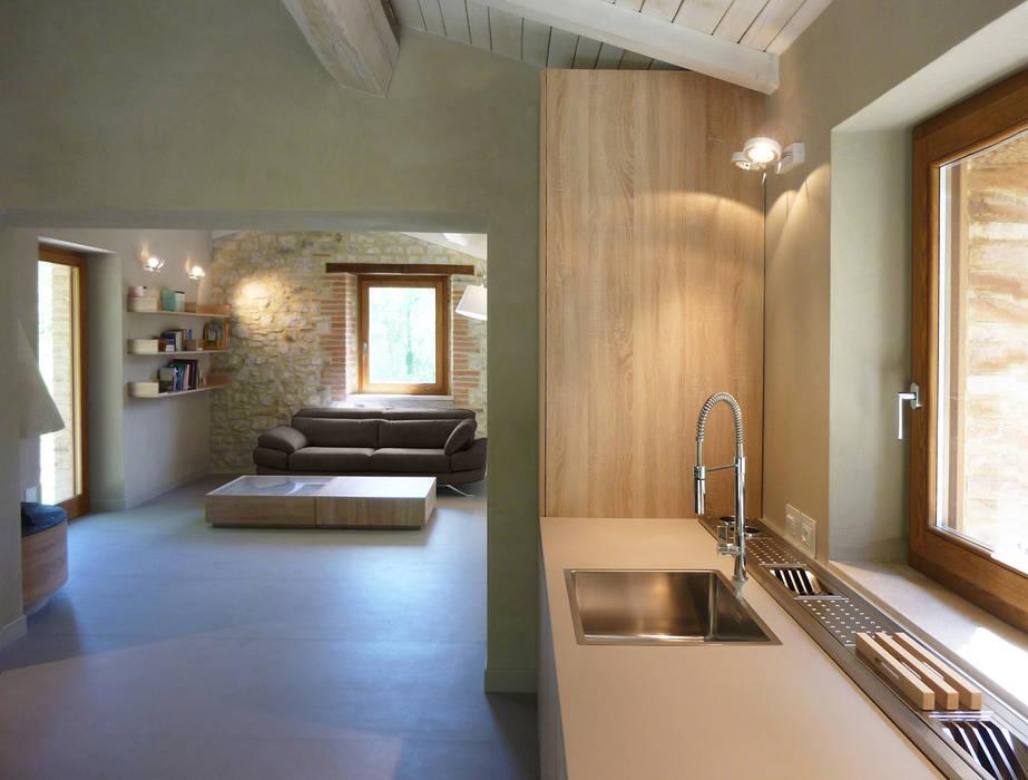 Dining room arredo con angolo cottura: cucina in stile in stile ...