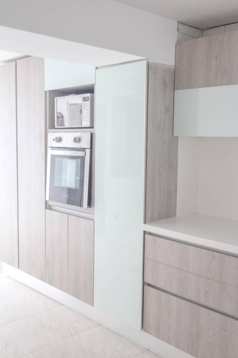 Proyecto cocina Cocinas modernas de Monica Saravia Moderno