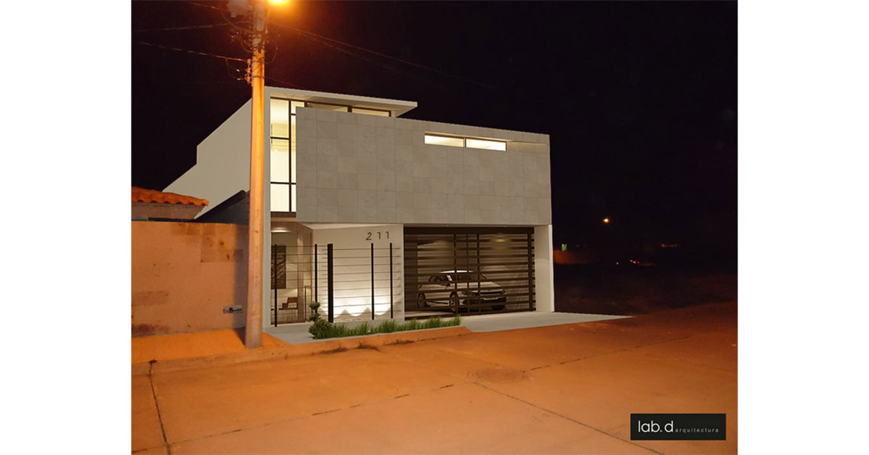 Minimalist houses by lab d arquitectura Minimalist