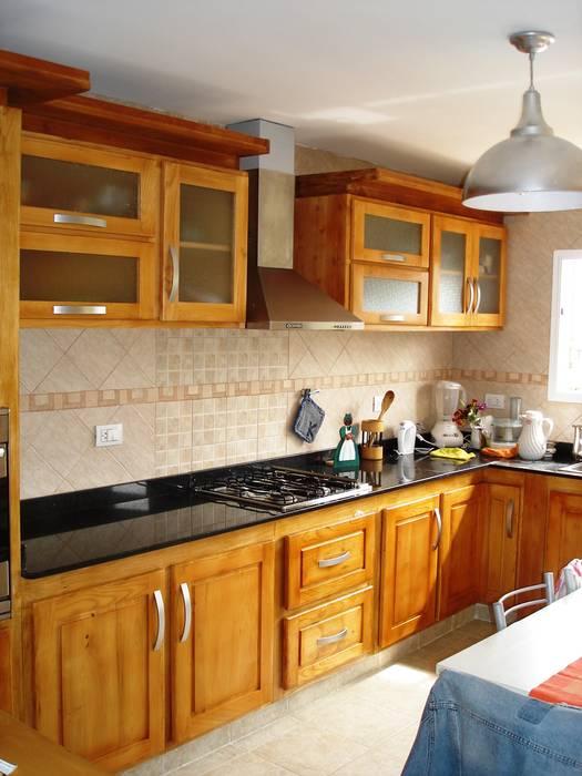 Cocina de enrique ramirez muebles artesanales rústico madera ...
