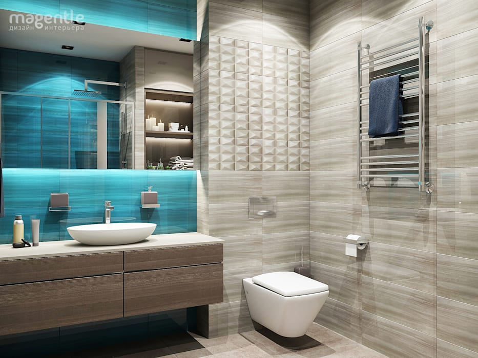 Bathroom by MAGENTLE,