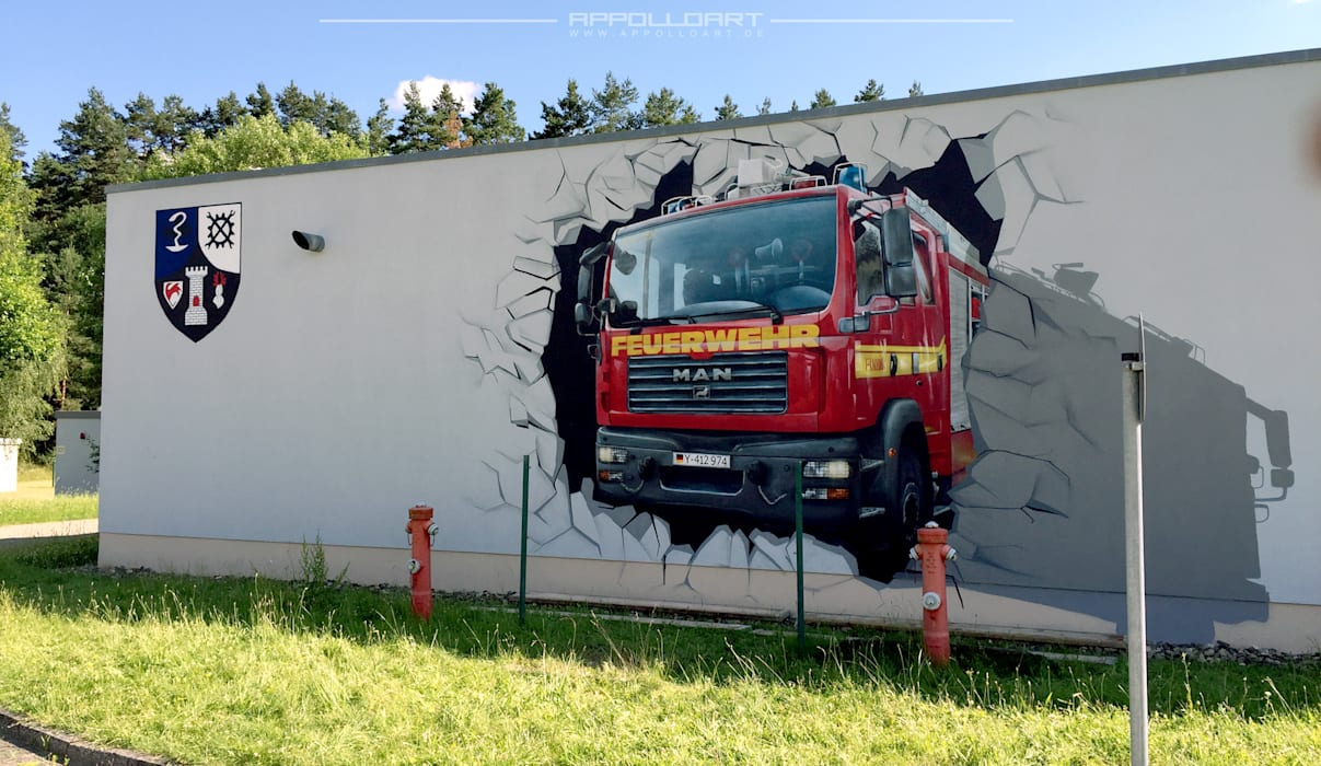 by Wandgestaltung Graffiti Airbrush von Appolloart Eclectic