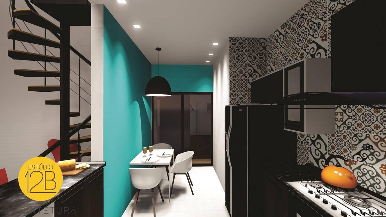 Moderne Küchen von Estúdio 12b Modern