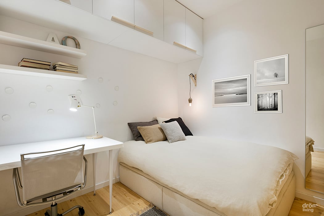 Dormitorios Juveniles Dormitorios de estilo escandinavo de Dröm Living Escandinavo