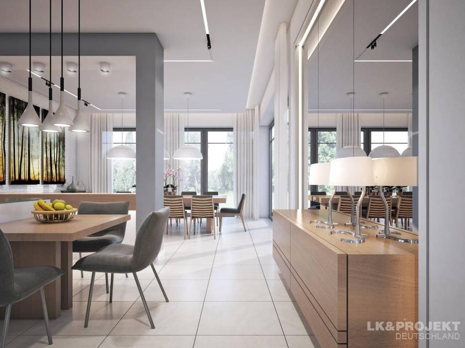 ห้องทานข้าว โดย LK&Projekt GmbH, โมเดิร์น