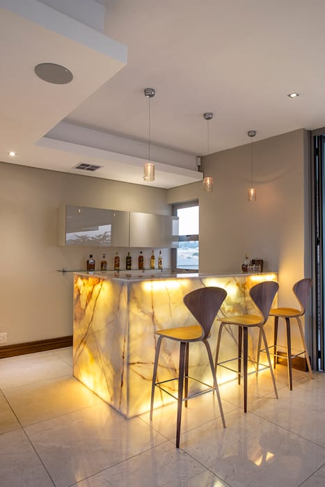 Residence Naidoo Modern kitchen by FRANCOIS MARAIS ARCHITECTS Modern