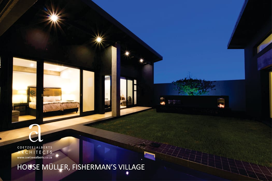 Modern houses by Coetzee Alberts Architects Modern