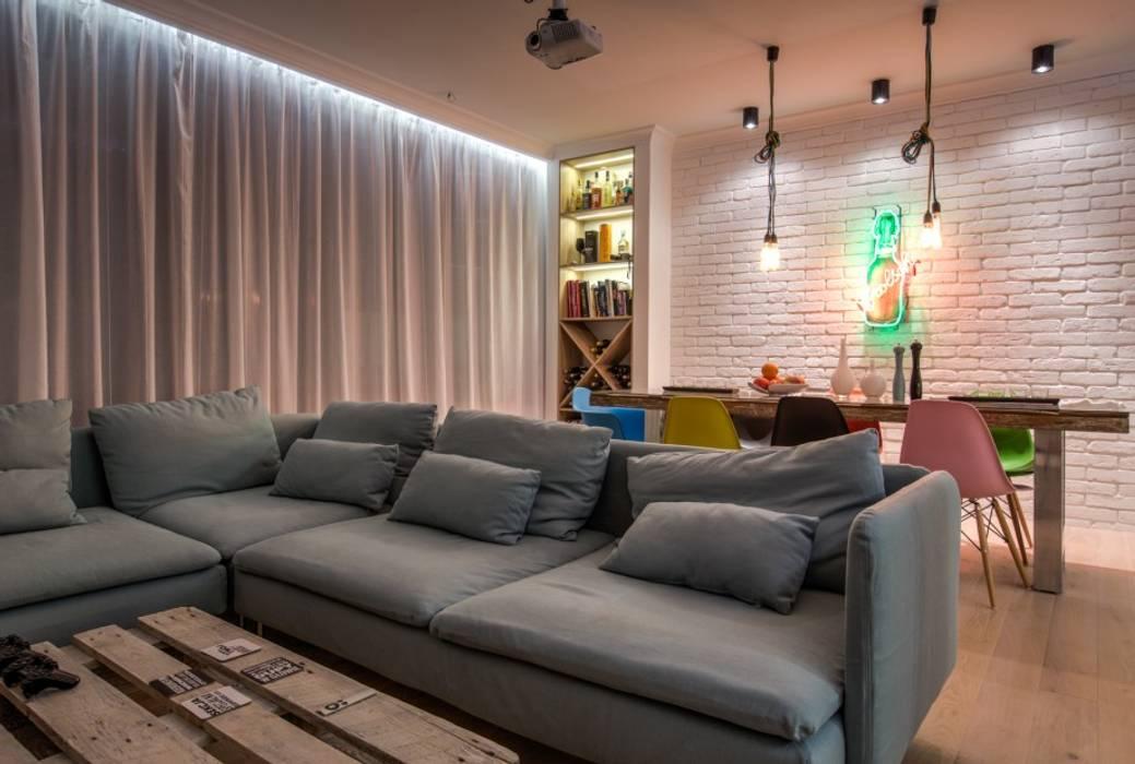 Soft Loft Nowoczesny salon od Perfect Space Nowoczesny