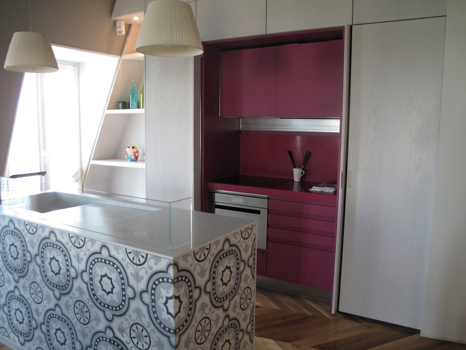 Eclectic style kitchen by ALDENA Eclectic
