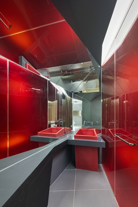 Baños de estilo moderno de Seungmo Lim Moderno
