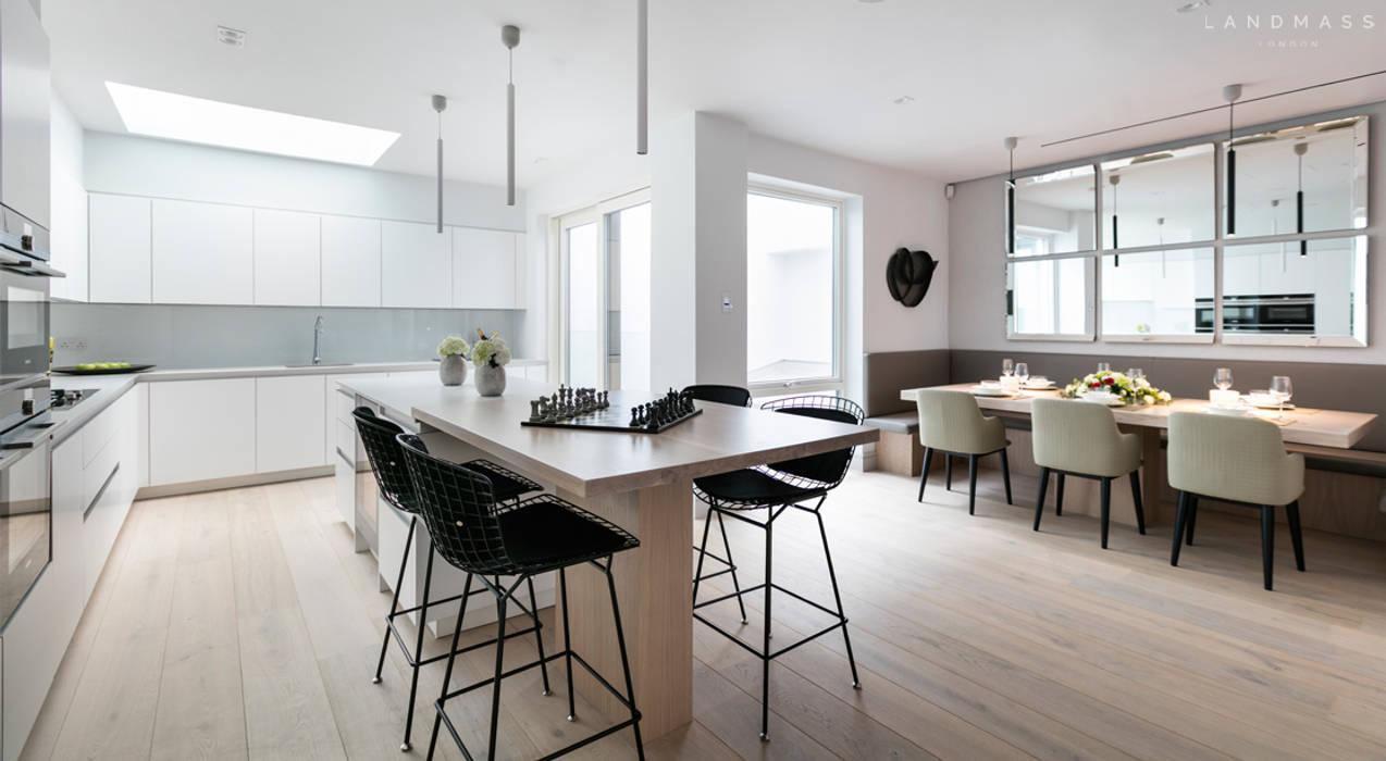 KITCHEN Dapur Modern Oleh Landmass London Modern