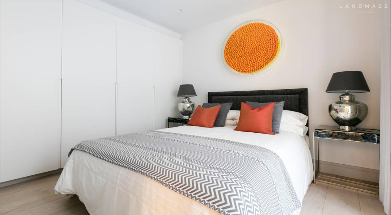 ห้องนอน by Landmass London