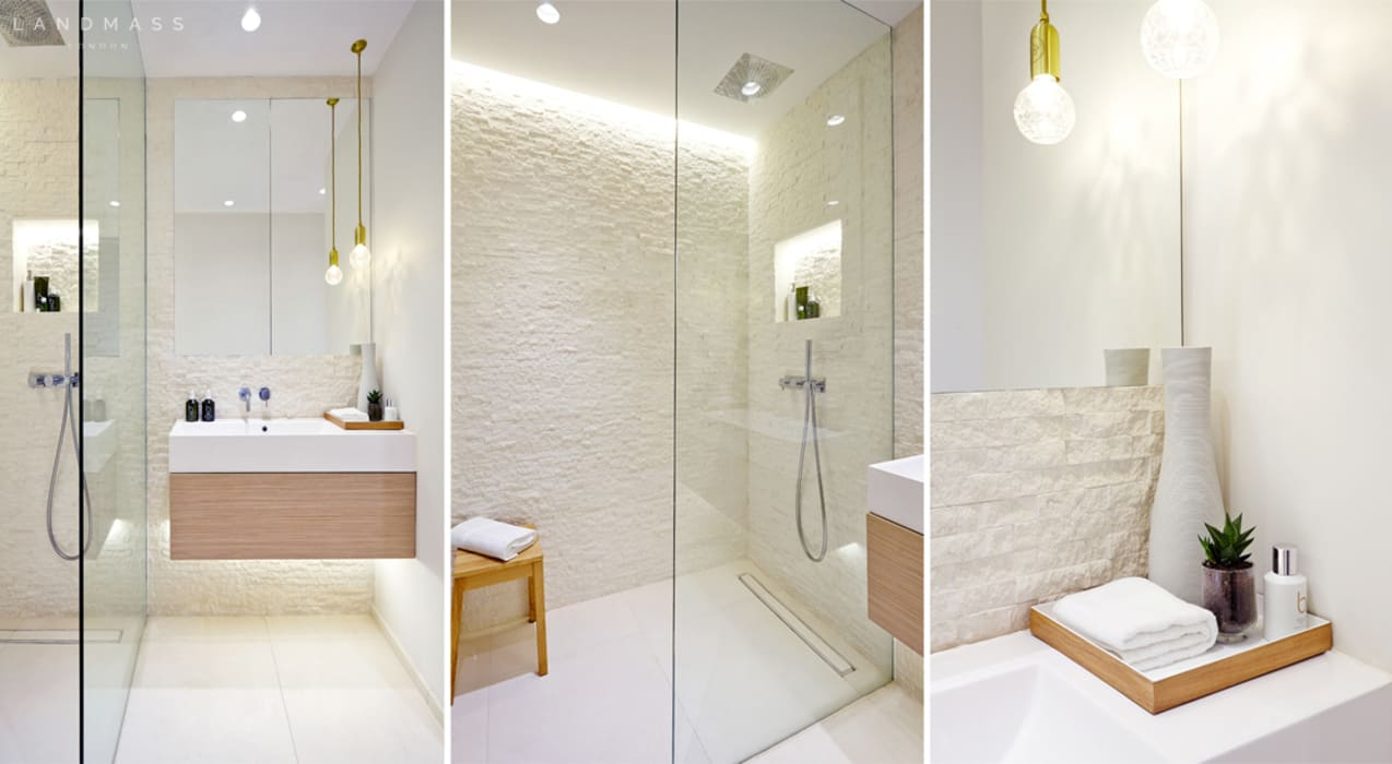 Bathroom by Landmass London, Industrial