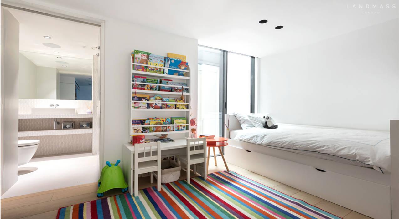 KIDS BEDROOM:  Bedroom by Landmass London, Scandinavian