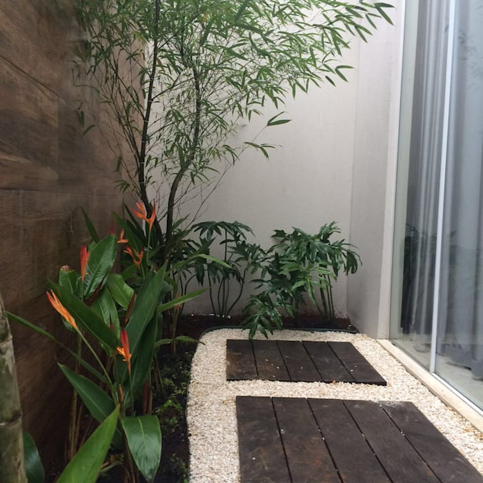 حديقة تنفيذ Eneida Lima Paisagismo,