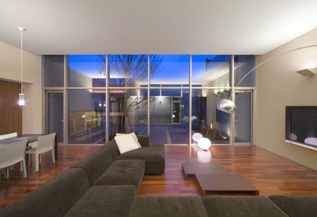 Atelier Square Moderne Wohnzimmer