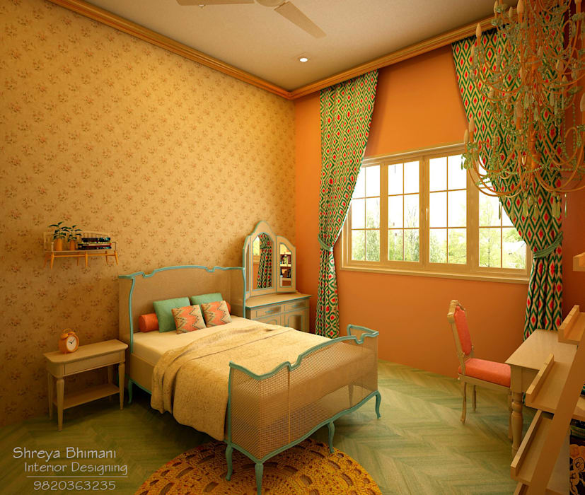 Teen's Room: modern Bedroom by Shreya Bhimani Designs