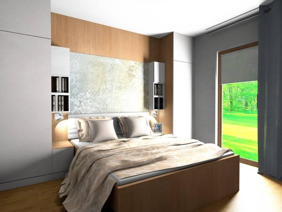 sypialnia Stylownia Wnętrz Skandynawska sypialnia