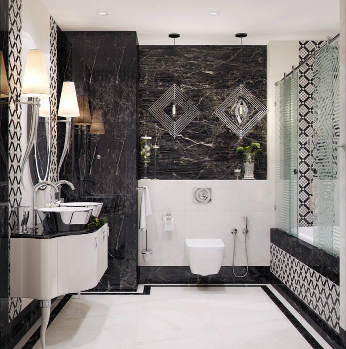 Bathroom by Студия дизайна Дарьи Одарюк,