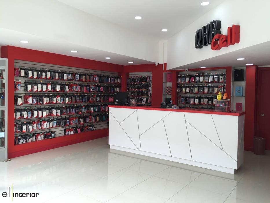 Lojas & Imóveis comerciais minimalistas por el interior Minimalista Madeira Efeito de madeira