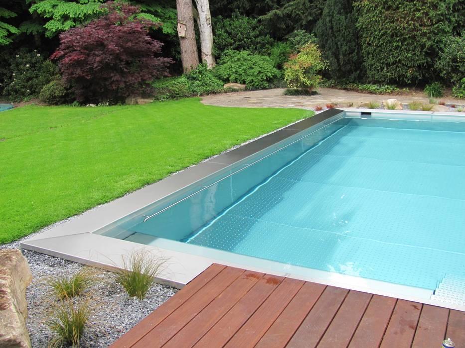 Бассейн в стиле модерн от Hesselbach GmbH Модерн Железо / Сталь